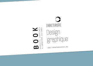 Book des projets imprimés à caractère culturel de CARACTERISTIC