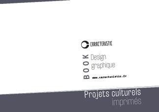 Book CARACTERISTIC projets culturels imprimés